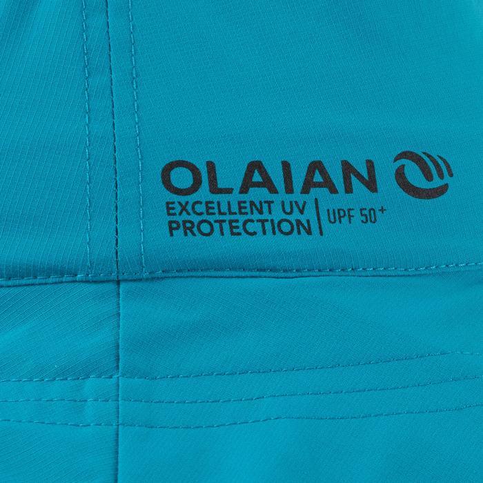 Hut mit UV-Schutz Surfen Kinder blau