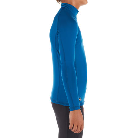 Kids' Long Sleeve Thermal UV Protection Top Surfing T-Shirt