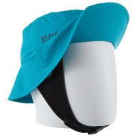 Gorro Surf Niños Azul Protección Solar UPF50+ Olaian