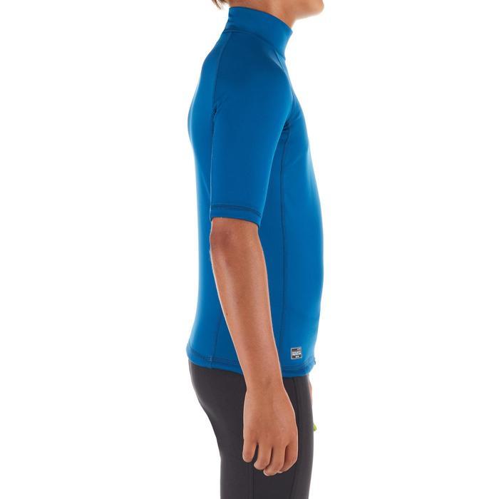 Top Camiseta Protección Solar Playa Surf Olaian Niño Azul ANTI-UV