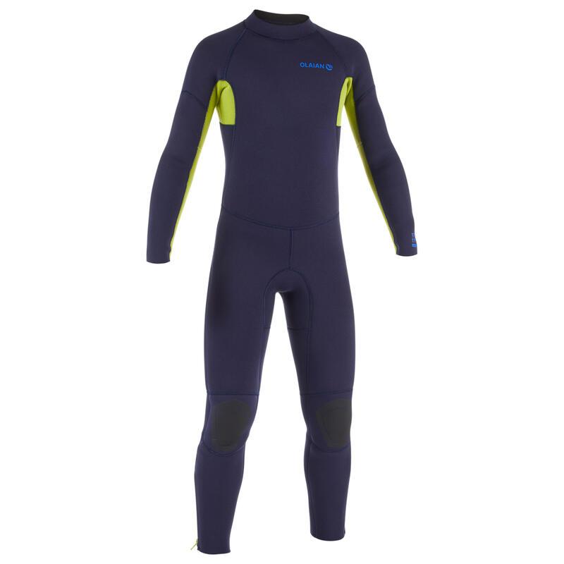 Kids' Steamer Full Wetsuit 100 4/3