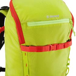 Rugzak voor alpinisme van 22 liter Alpinism 22 geel