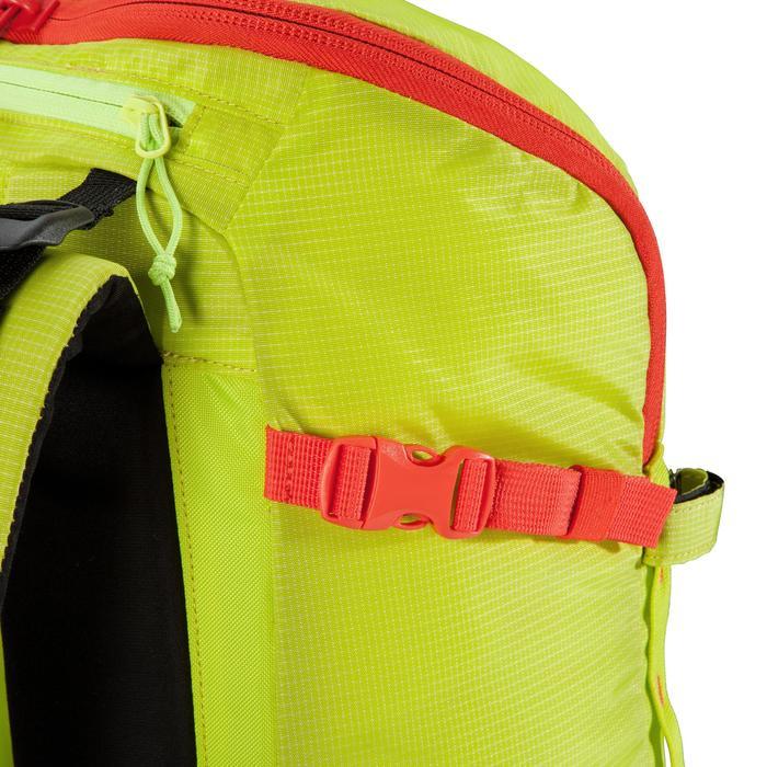 Bergsteiger-Rucksack Alpinism 22 gelb