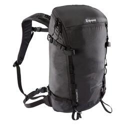 登山運動背包22 L Alpinism 22-黑色