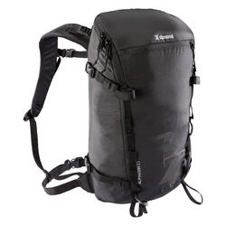 ALPINISM 22 mountaineering backpack BLACK
