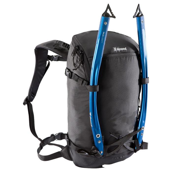 Bergsteiger-Rucksack Alpinism 22 schwarz