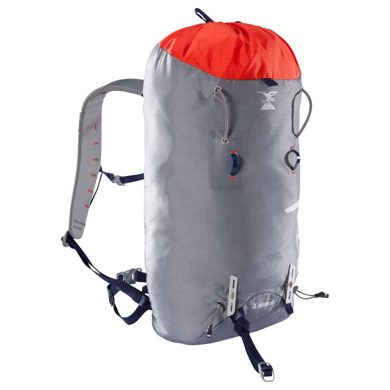 HOROLEZECKÉ BATOHY Alpinismus, horolezectví - BATOH SPRINT 33 L ČERVENÝ SIMOND - Batohy, stany, spacáky