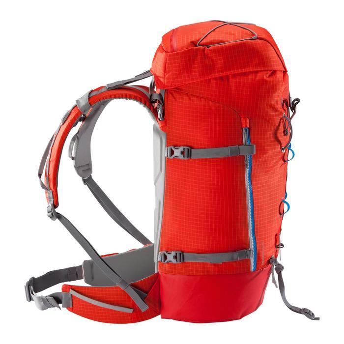Rugzak voor alpinisme van 70 liter Makalu 45/70 rood
