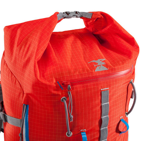 Mountaineering Backpack 70 Litres - Makalu 45/70 Red