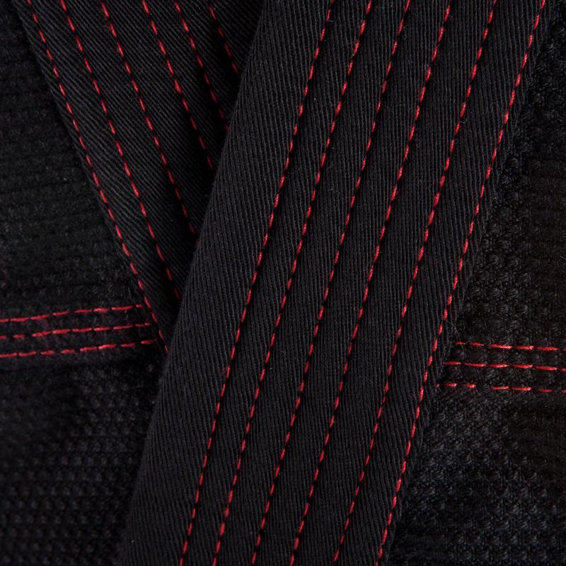 ชุดบราซิลเลียนยูยิตสึสำหรับผู้ใหญ่รุ่น 500 (สีดำ)