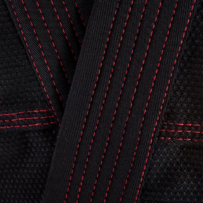 Kimono Brasilianisches Jiu-Jitsu BJJ500 Erwachsene schwarz