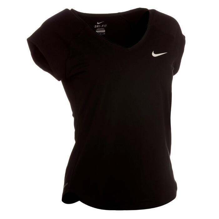 Tennis-Top Pure Damen schwarz