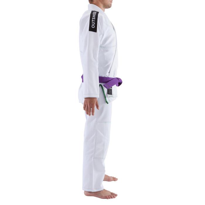 Kimono Brasilianisches Jiu-Jitsu JJB500 Erwachsene weiß