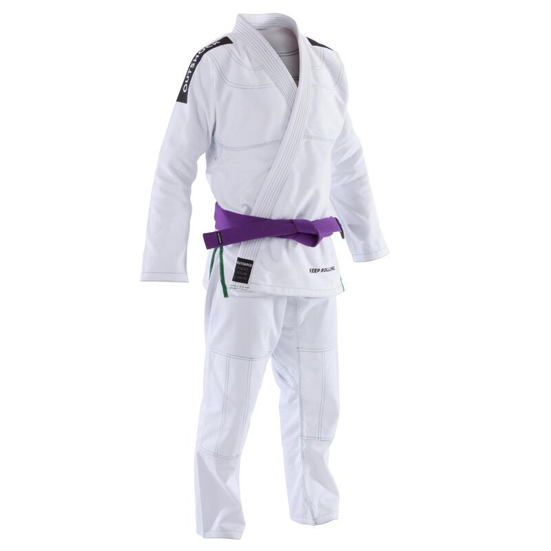 Braziliaans Jiu-Jitsu (BJJ) pak voor volwassenen 500 wit