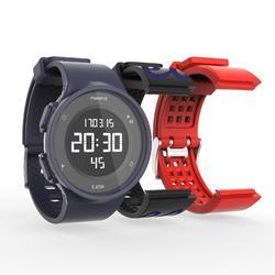 Coffre montre chronomètre de course à pied + 2 bracelets