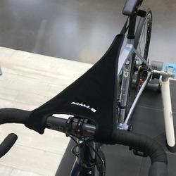 Conjunto de proteção transpiração bicicleta rolo de treino