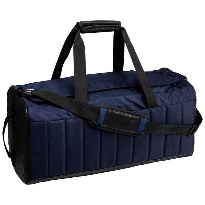 Bolsa de deporte gimnasio Cardio Fitness Domyos LikeAocker 40 litros negro azul