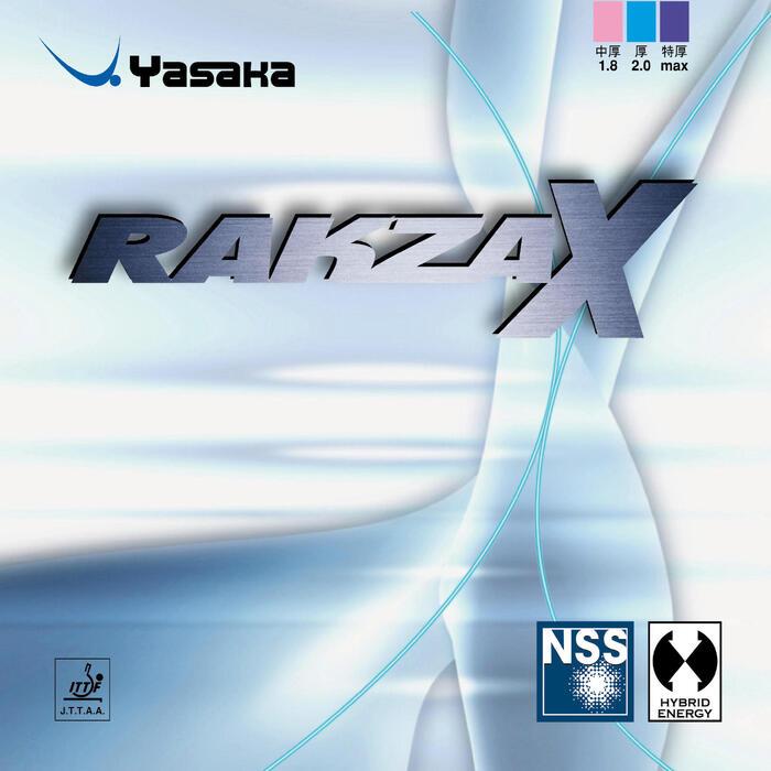 Tafeltennis rubbers Rakza X