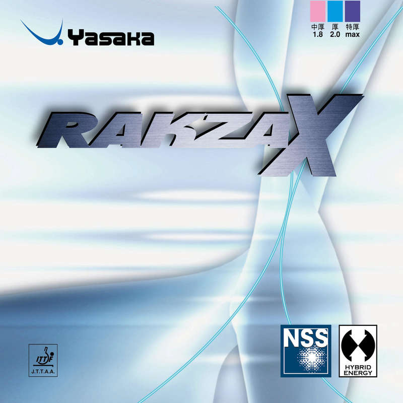 ACADEMIC BLADES & RUBBERS Table Tennis - Rakza X Yasaka Rubber YASAKA - Table Tennis Accessories