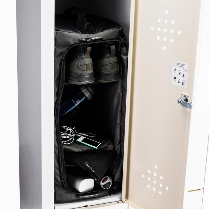 Sporttas fitness like-a-locker 40 liter, kaki