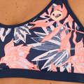 KOSTIUMY KĄPIELOWE DAMSKIE DLA ZAAWANSOWANYCH Surf - Góra kostiumu Vivian ROXY - Woda