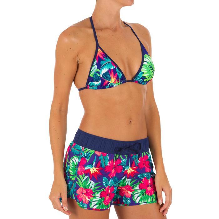 Top Bikini Triangulos Corredizos Olaian Mae Pad Mujer Copas Desmontables Flores