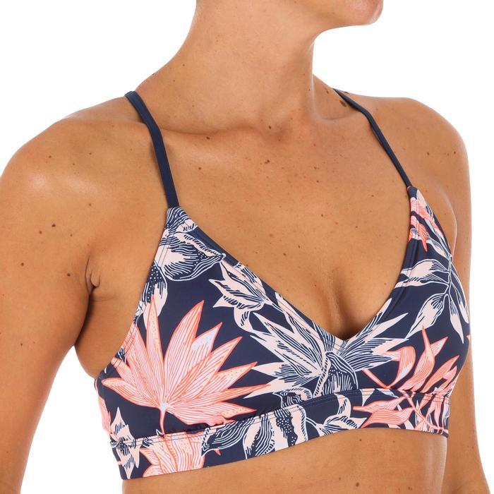 Bikini-Oberteil Bustier Roxy Vivian Triangel verstellbare Rückenträger Damen