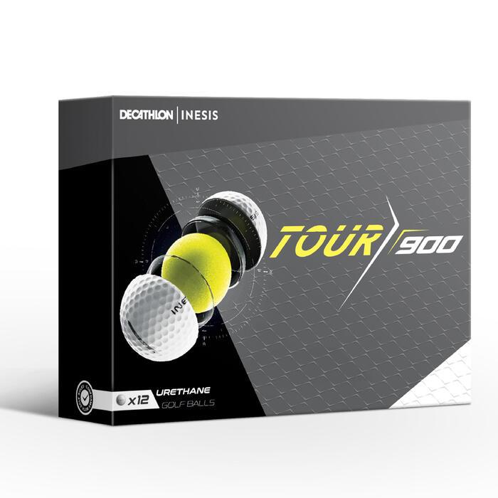 Golfballen Tour 900 12 stuks wit