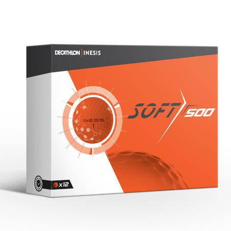 Balle de golf DOUX 500 X12 orange