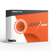 Soft 500 Golf Ball x12 - Orange