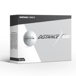 高爾夫球 Distance 100 (12入) - 白色