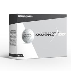 Golfbal Distance 100 x12 wit