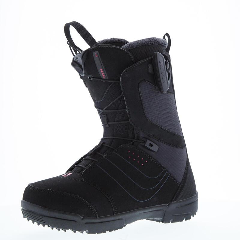 Women's Pearl Zone Lock All-Mountain Snowboard Boots