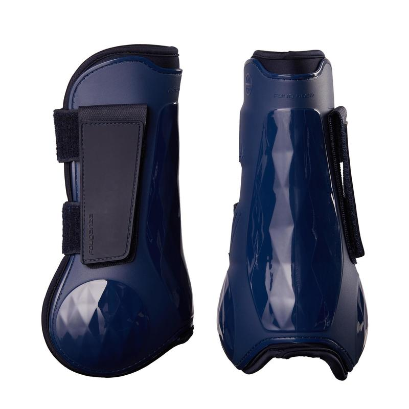 Horse Tendon Boots Twin-Pack 500 - Navy
