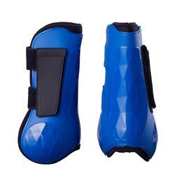 Open peesbeschermers voor paard blauw elektrisch 500 X2