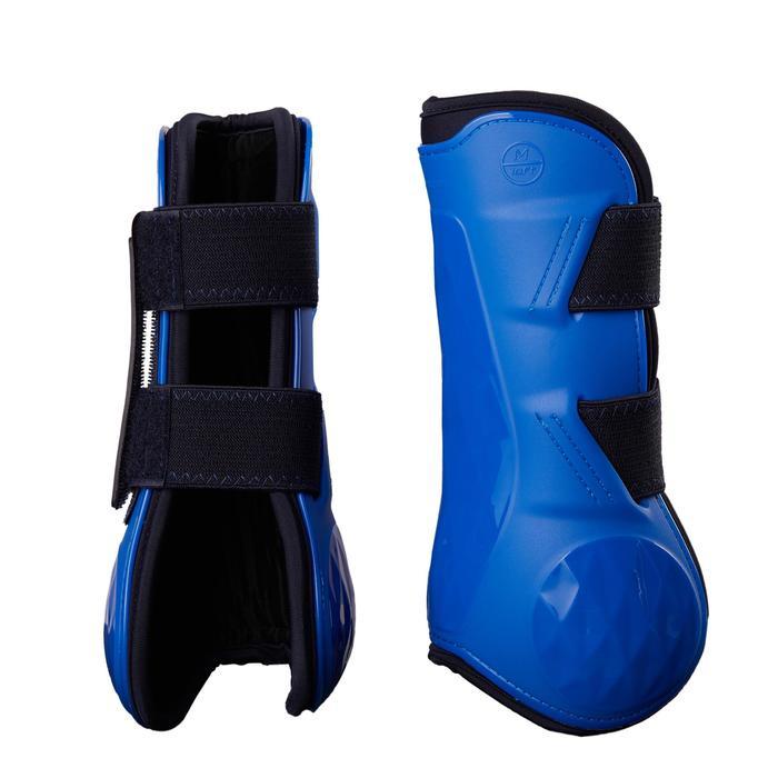 Open peesbeschermers 500 Jump paard koningsblauw