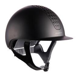Paardrijcap 520 mat zwart