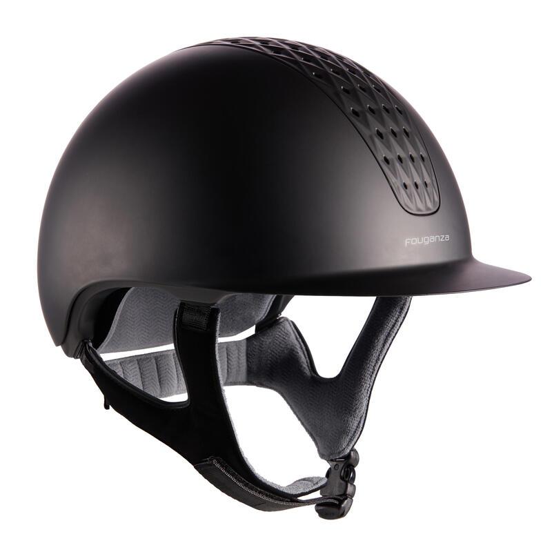 Jezdecká přilba 520 černá matná