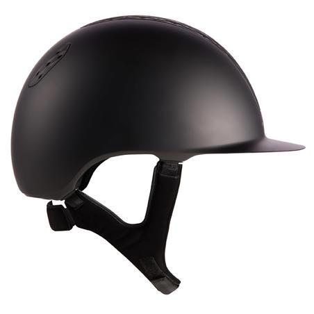 Adult and Kids' Horse Riding Helmet 520 - Matte Black