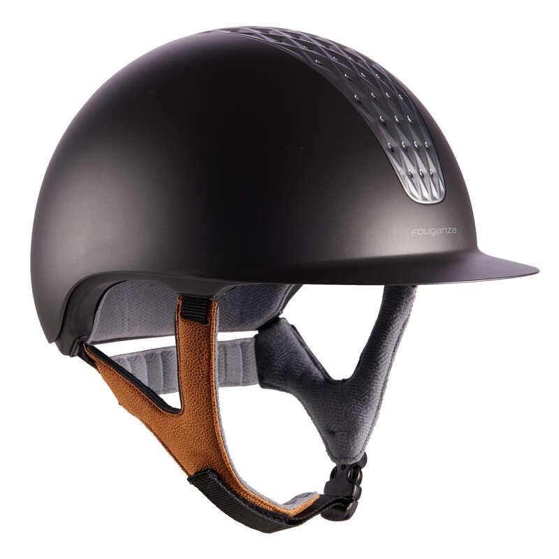 Protecţii călăreţ Echitatie - Tocă Echitație 520 gri-maro FOUGANZA - Echitatie
