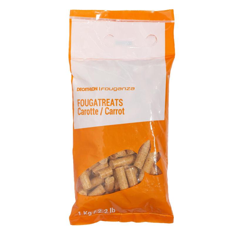 Friandises équitation cheval et poney FOUGATREATS carotte - 1 KG