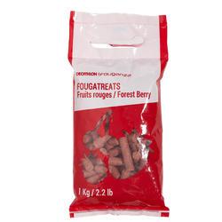 Golosinas equitación caballo y poni FOUGATREATS frutos rojos - 1 kg