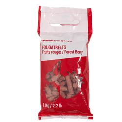 Leckerlis Fougatreats rote Beeren 1 kg