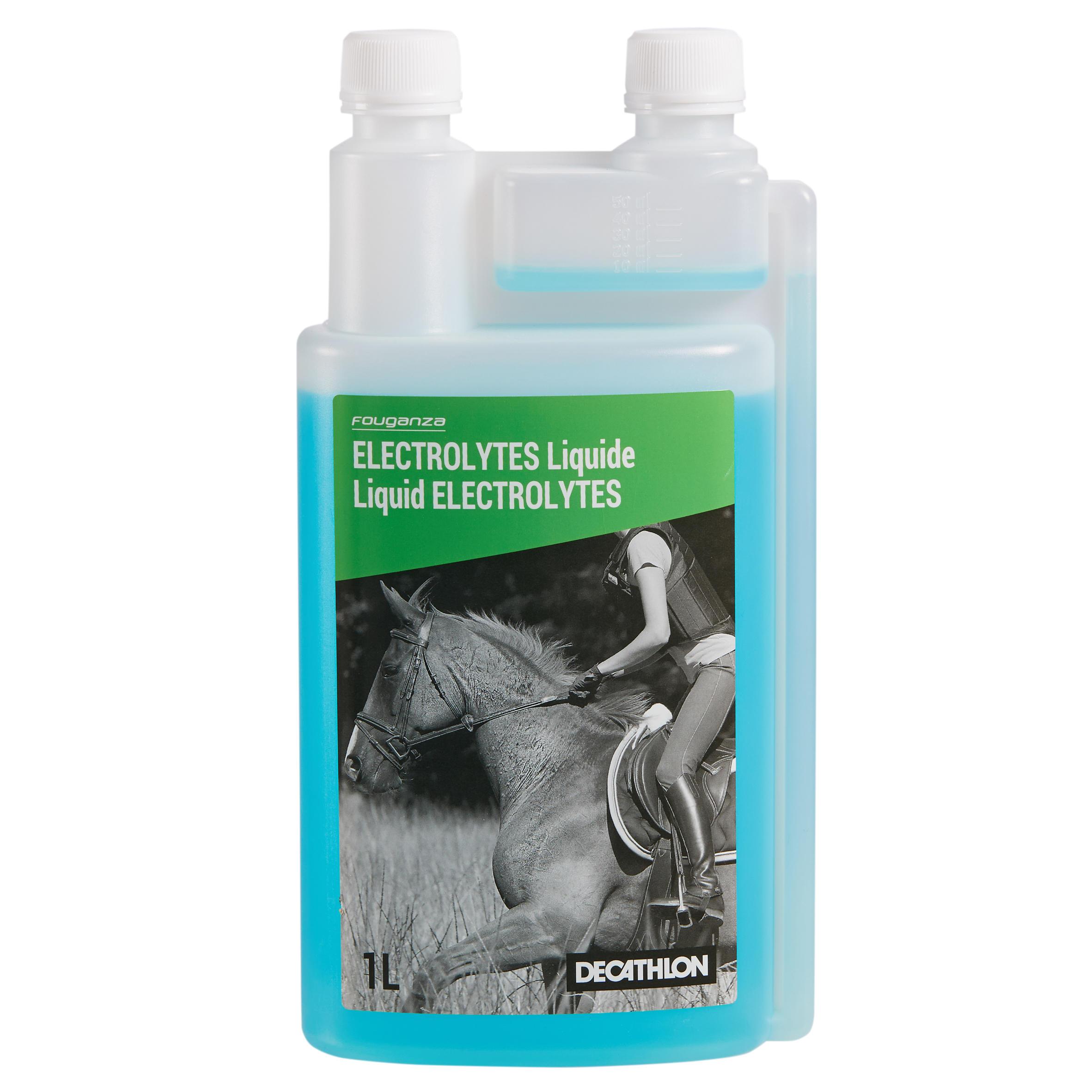 Complément alimentaire pour chevaux et poneys ÉLECTROLYTE (1 L)