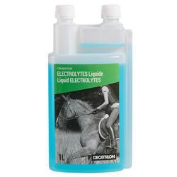 Complemento alimentario equitación caballo y poni ELECTROLITOS - 1 L