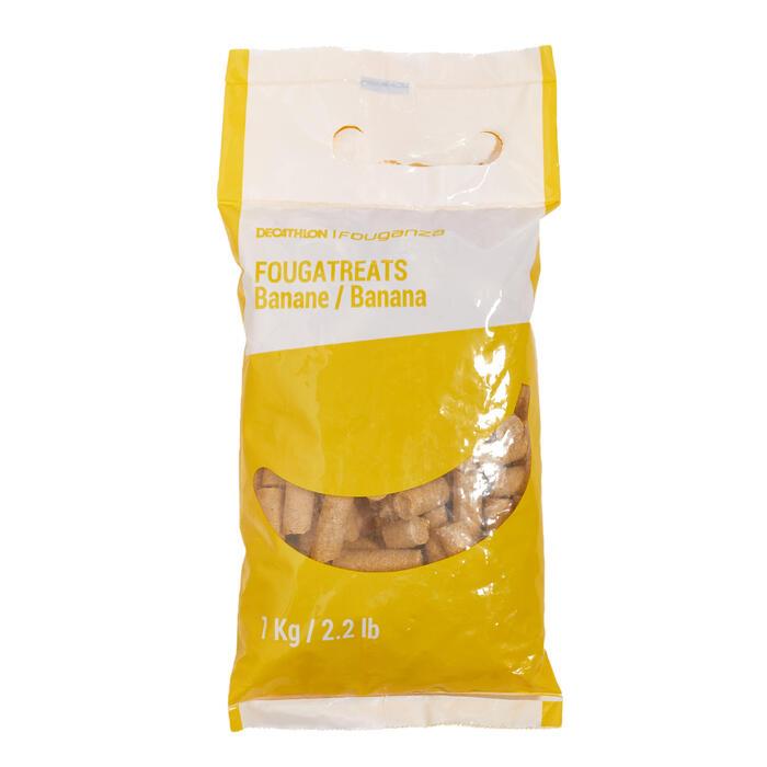 Snoepjes ruitersport paard en pony Fougatreats banaan - 1 kg