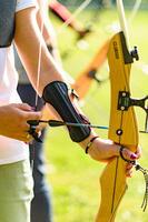 Short Archery Armguard Club 500