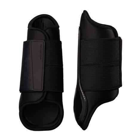 500 Horse Brushing Boots - Black