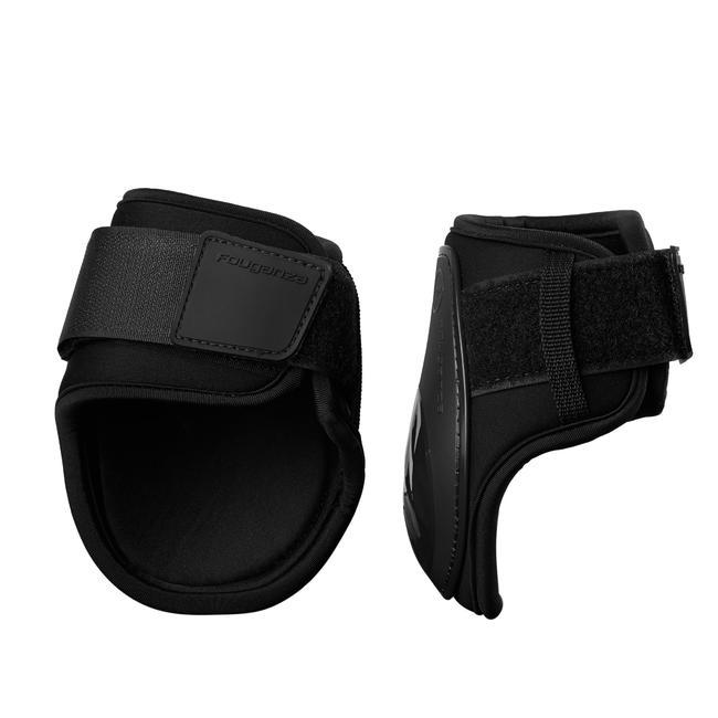 500 Jump Fetlock Boots for Horse - Black