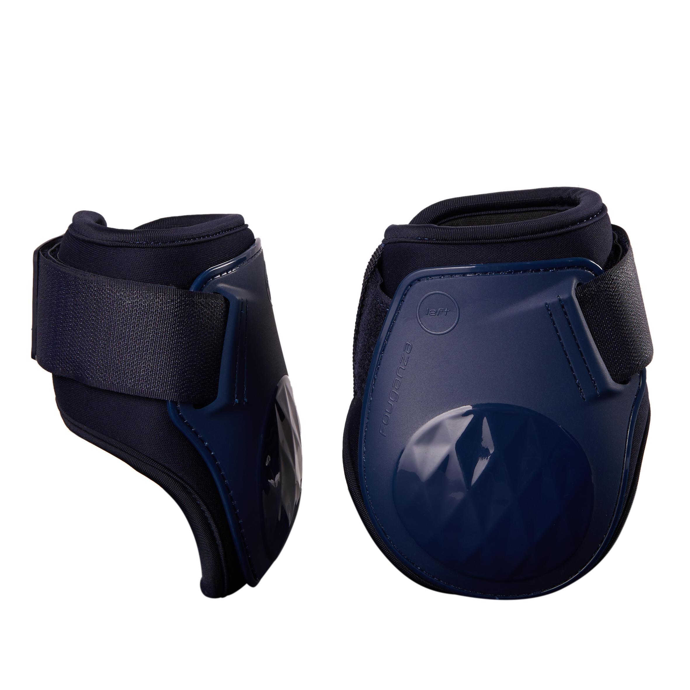 Fouganza Kogelbeschermers 500 Jump paard marineblauw